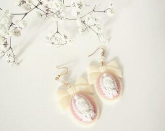 Virgen de Guadalupe earrings . Sweet Virgin