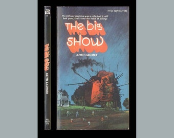 Keith Laumer, The Big Show Ace No. 06177 PBO 1st Edition Science Fiction Stories Vintage Paperback
