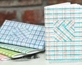 Plaid Shirt Pocket Notebook