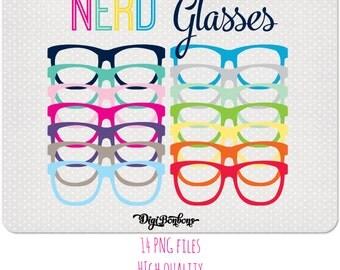 ea52b9af0e7 nerd glasses clipart teacher clipart colorful glasses clip art clip art  commercial use ok