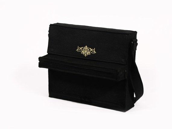 Piano Bag Music Black Felt Bag