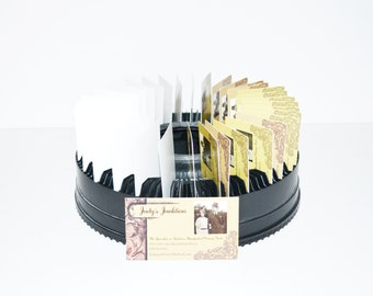 Vivitar Slide Projector Carousel Business Card Holder Vivitar Slide Tray S-100 Rotary Slide Tray Card Holder