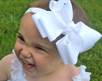 Big Bow Headband - Big Baby Headband - XXL Baby Bow