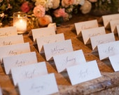 Listing for JA - Hand Calligraphy Place Cards