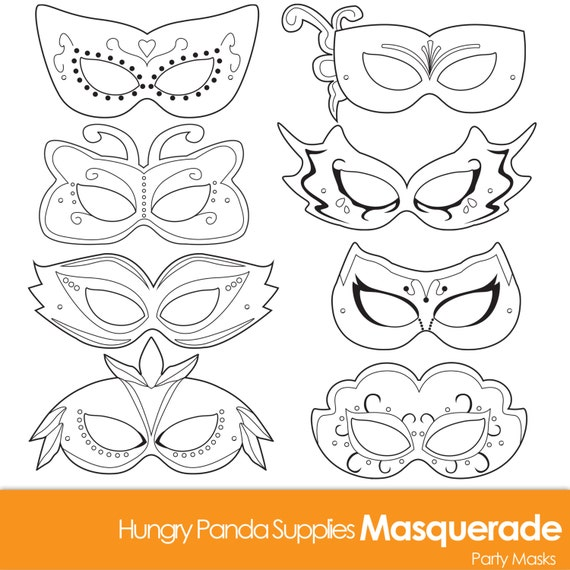 Adorable image intended for printable masquerade mask templates