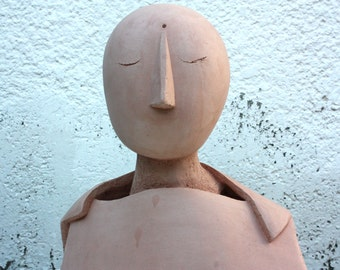 Ceramic sculpture // figurative art by Elisaveta Sivas