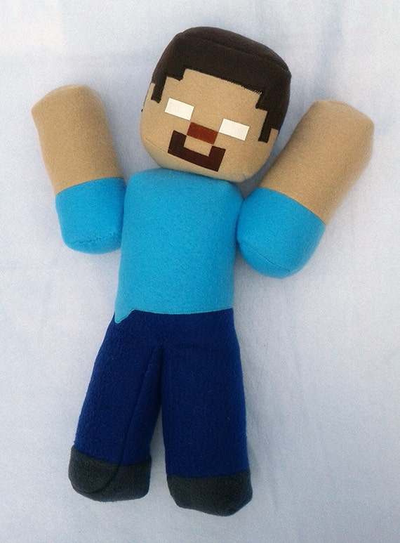 Toy R Us Toy Herobrine : Inch jointed herobrine with glow eyes plush toy