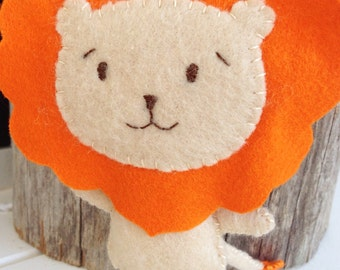 Lion Plush Felt Toy