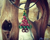 Chainmail Christmas Tree Ornament or Pendant