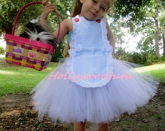 Wizard of oz dorothy inspired tutu dress costume