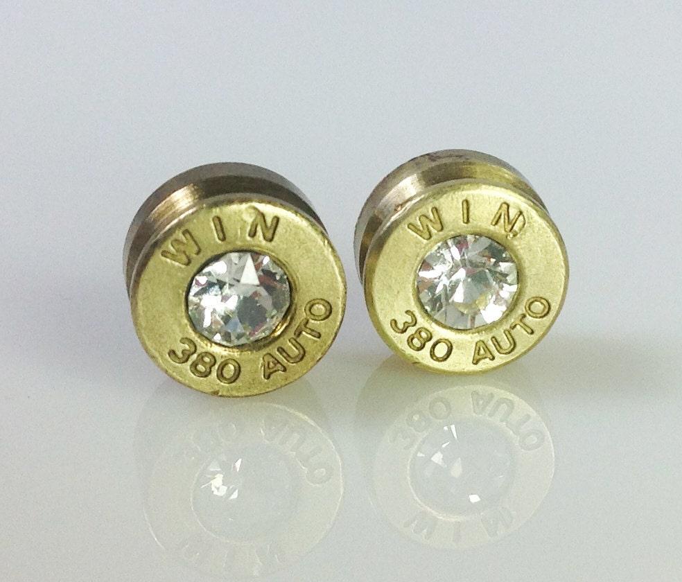 380 swarovski bullet earrings