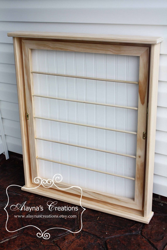 Wall Mounted Laundry Drying Rack - Unfinished and Ready for You to Paint Yourself!