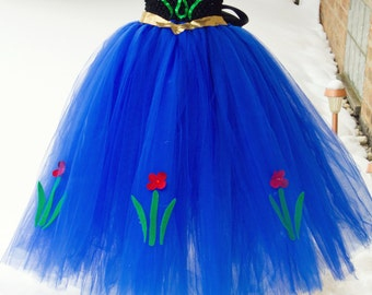 Princess Anna Inspired Tutu Dress- Frozen