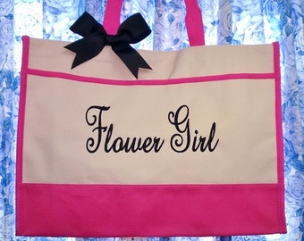 Flower Girl Tote Bag Wedding Gift
