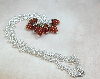 Necklace - Strawberry Luv