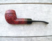 Custom Tobacco Pipe By JTobac an Estate BullDog upcycled and Renewed