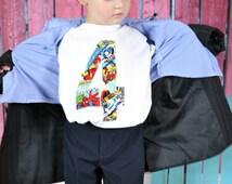 Marvel Birthday Shirt, Superhero Birthday, Boys Birthday Shirt, Marvel Birthday Clothing, Superhero Birthday Clothing, Spiderman, Hulk