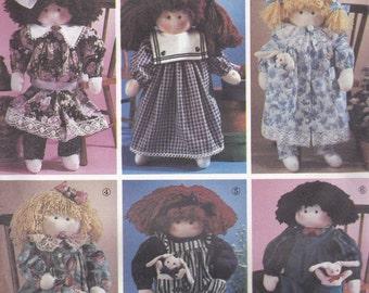 Doll & Clothes Pattern Simplicity 7650 Uncut