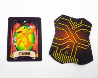 Digimon Gate Cards - Complete Set of 10 Cards