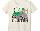 Tractor T-shirt, Tractor Birthday, Farm Theme, Toddler Tractor Shirt, Green Tractor, Farm T Shirt, Goat T Shirt, Farm Animal Shirt
