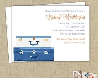 Honeymoon or Bridal Shower Invitation