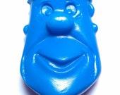 Vintage 1975 Pebbles Cereal Premium - Fred Flintstone Coin Pouch - Blue