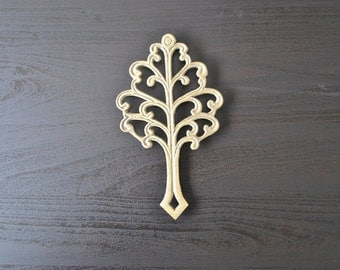 Brass Tree Trivet