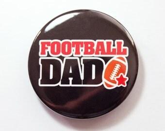 Football Dad bottle opener, Bottle Opener, Beer bottle opener, Football Opener, gift for him, Fathers Day Gift, Gift for Dad (3696)