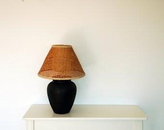 popular items for vintage lampshade on etsy. Black Bedroom Furniture Sets. Home Design Ideas