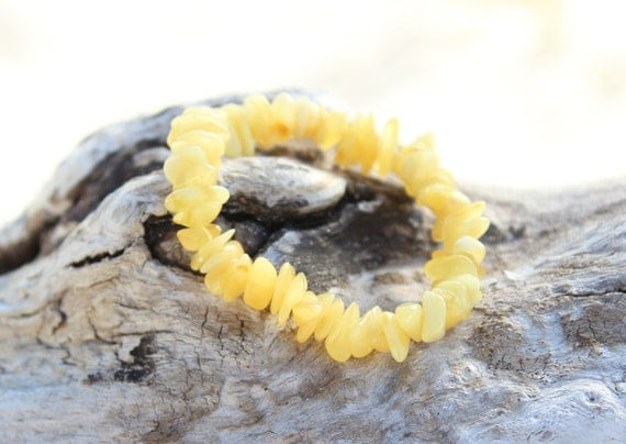 Baltic Amber bracelet for babies