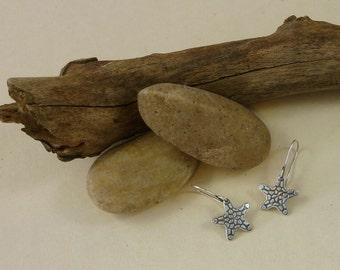 Starfish earrings |  sea star earrings | beach jewelry | sea life jewelry