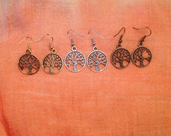 Tree of Life Dangle Earrings (1 pair)