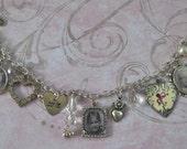 Photo Charm Bracelet, Necklace or Pendant, Personalized Photo Jewelry