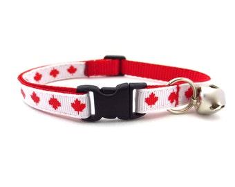 Oh Canada! Cat Collar