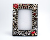Jeweled Photo Frame - Decorative Picture Frame - 4x6 - Rhinestones