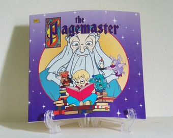 Vintage The Pagemaster Book - The Pagemaster Book - The Pagemaster Movie Book - The Pagemaster - Golden Look-Look Book
