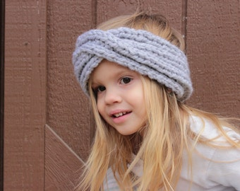 I Love You to Infinity Headband / Neck Warmer, Child or Adult sizes available