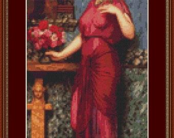 An Offering To Venus Cross Stitch Pattern