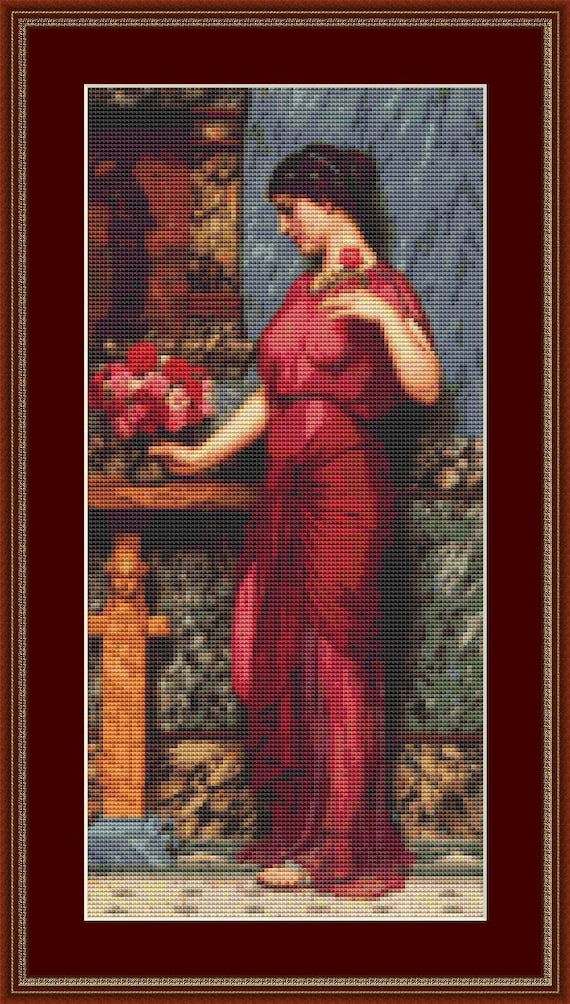 An Offering To Venus Cross Stitch Pattern /Digital PDF Files /Instant downloadable