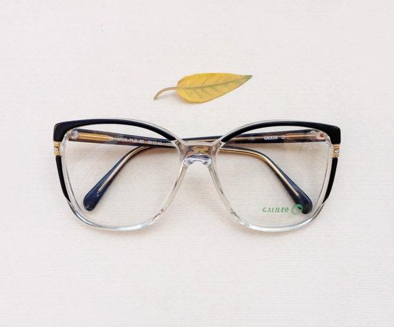 occhiali vintage anni 80 39 montatura da vista galileo