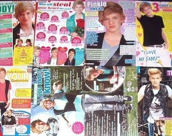 CODY SIMPSON ~ On My Mind, Pretty Brown Eyes, iYiYi, Wish U Were Here, Summertime ~ Color Articles for Scrapbooking - Batch 2