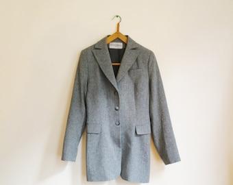 Vintage 90 Heather Grey Jacket