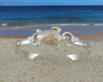 Nautical whale tail bracelet hand crafted on cape cod out of for Cape cod fish bracelet