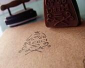 Merci - Wooden Stamp - Save the Date - Scrapbooking - Wedding
