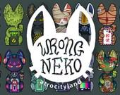 Felix: Wrong Neko stickers