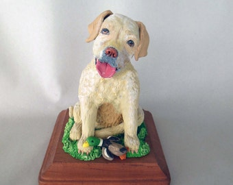 Custom Pet Sculptures * This is for the Deposit to start Your Sculpture *Contact Seller for Availability