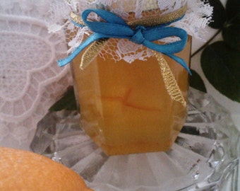 Lace Wedding Jam Favors / Shabby-Chic Wedding/ 2 oz jars/ 50 SPRING WEDDING Favors/ Your Flavor-Color-Ribbon choice