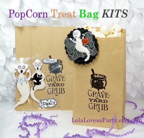 items similar to popcorn bag kits 8 wax