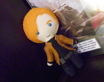 Resident Evil Inspired Plushie (Leon S. Kennedy OR Ada Wong)