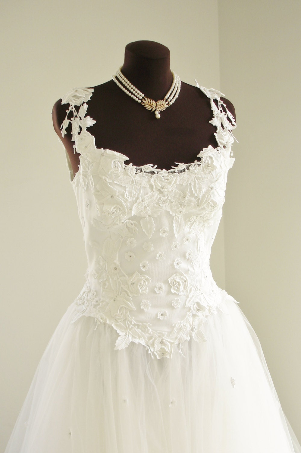 Vintage priscilla of boston wedding dress with full ball gown for Boston wedding dresses